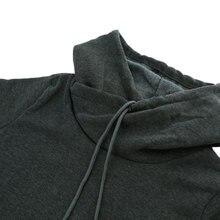 Korean Self-Tie Pocket Hoodie