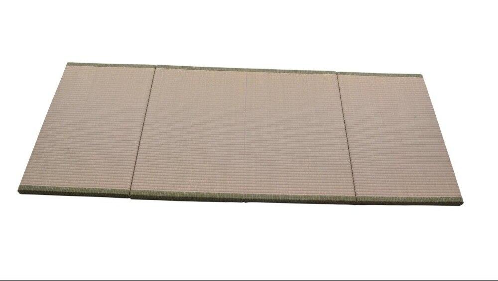 Japanese Traditional Igusa (Rush Grass) Tatami Mattress Floor Futon Foldable Hard Comfortable Sleeping Pad For Japanese Tea Room