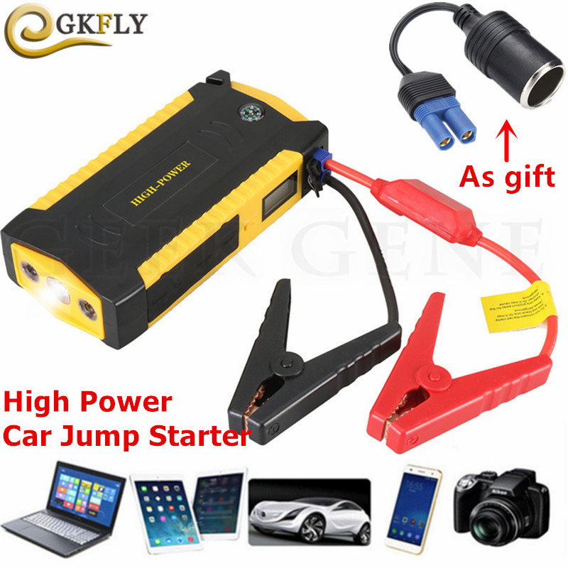 Portable 16000mAh Petrol Diesel Car Jump Starter Power Bank 12V 600A Starting Device Booster Car Charger For Car Battery BusterPortable 16000mAh Petrol Diesel Car Jump Starter Power Bank 12V 600A Starting Device Booster Car Charger For Car Battery Buster