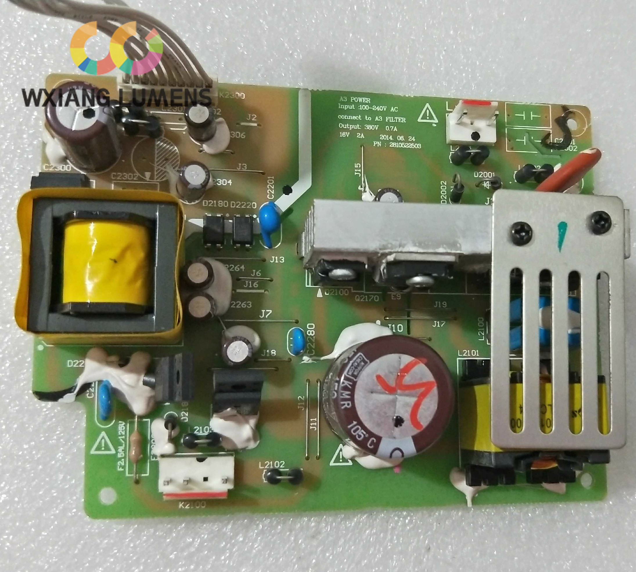Projector Main Power Supply Board Fit for Panasonic PT-X3231STCProjector Main Power Supply Board Fit for Panasonic PT-X3231STC