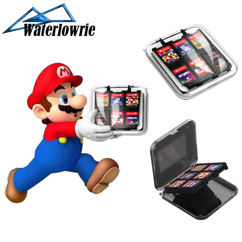 WaterLowrie 12 in 1 Game Memory Card Micro SD Case Holder for Nintend Switch NS Switch Lite Cartridge Storage Box(China)