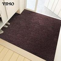 TIMO Carpet Living Room Doormat Floor Mat For Hotel Anti Slip Cuttable Hallway Doormat For Entrance Door Office Anti noise Mat