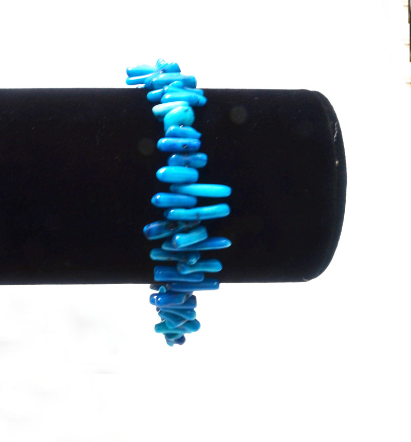 2016 New Style Blue Coral Bracelet For Sale, Unique Beads