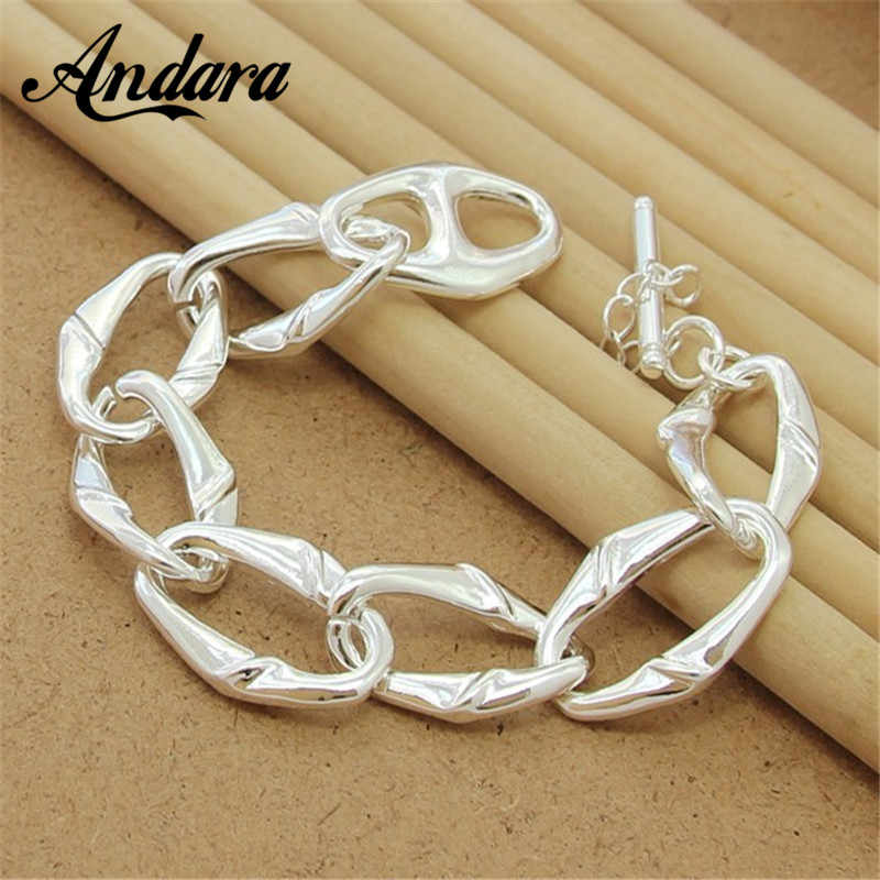 Brand Designer Moon Star Charms 925 Sterling Silver Bracelets For Women Fine Jewelry Best Gift