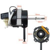 1pcs 6 inch 60W copper 220v fan motor fan parts