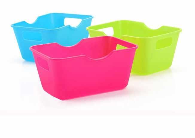 1 шт. случайные цвета практичные новые модные PP Пластиковые Офисные Настольные Ящики для хранения Органайзер для макияжа коробка для хранения ок 0322