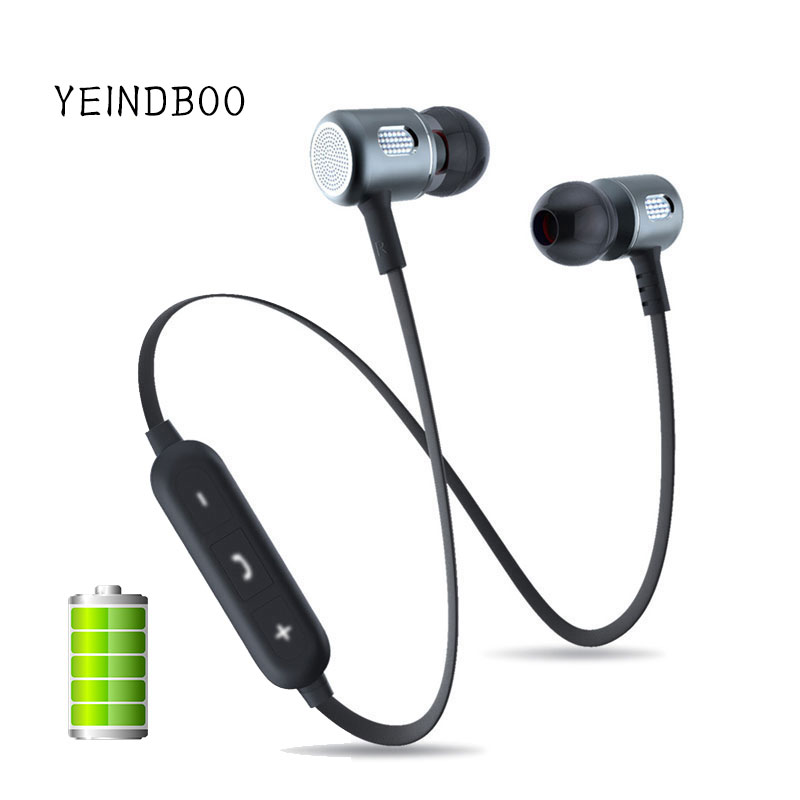 YEINDBOO Bass Bluetooth Earphone Wireless Earphones With Mic Magnetic in ear Bluetooth Earbuds Headset For Mobile Phone Sports сковорода блинная нмп литая титан 20 см антипр покр литой алюм