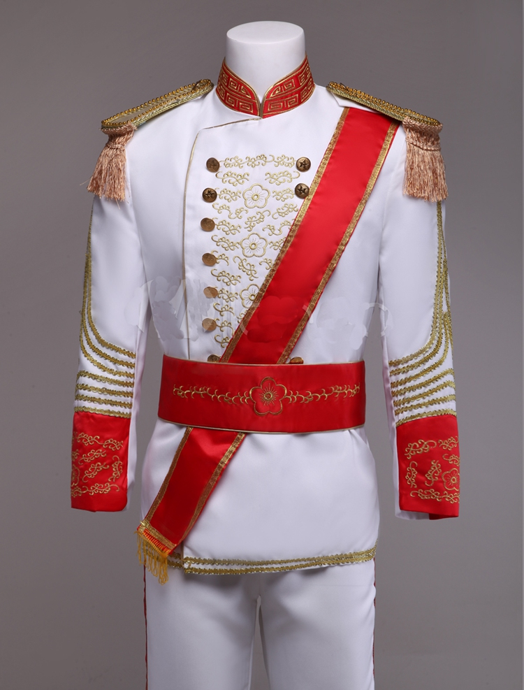 cinderella costume party adult prince charming cosplay costume halloween costumes embroidery jacket suit party carnival costume in sexy costumes from - Prince Charming Halloween Costumes
