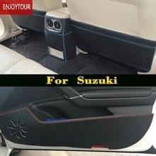 Car  pads front rear door Seat Anti-kick mat For Maruti Suzuki SX4 new S-Cross Swift Ciaz Alivio vitara Escudo