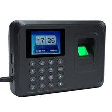 Управление расписанием сотрудников интеллектуальная биометрическая машина для регистрации паролей работник 2,4 дюймов TFT DC 5 V