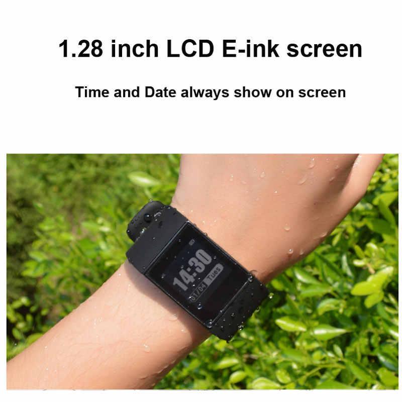 8265cd17b98f9d ... DW007 Couple E-ink Smartwatch Activity Tracker Waterproof Sport  Bracelet Bluetooth Heart Rate Monitor Multi