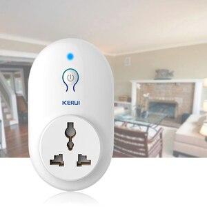 Image 2 - KERUI 5pcs/lot Wireless EU US UK AU Standard Power Socket 433MHz Smart Switch Socket For KERUI Home Security Alarm System