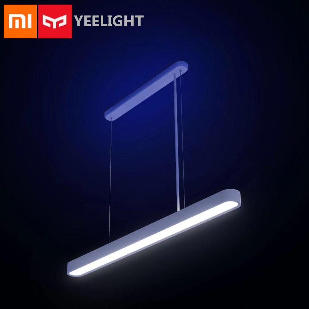 Xiaomi Mijia YEELIGHT météorite LED dîner intelligent pendentif lumières APP télécommande commande vocale atmosphère colorée éclairage