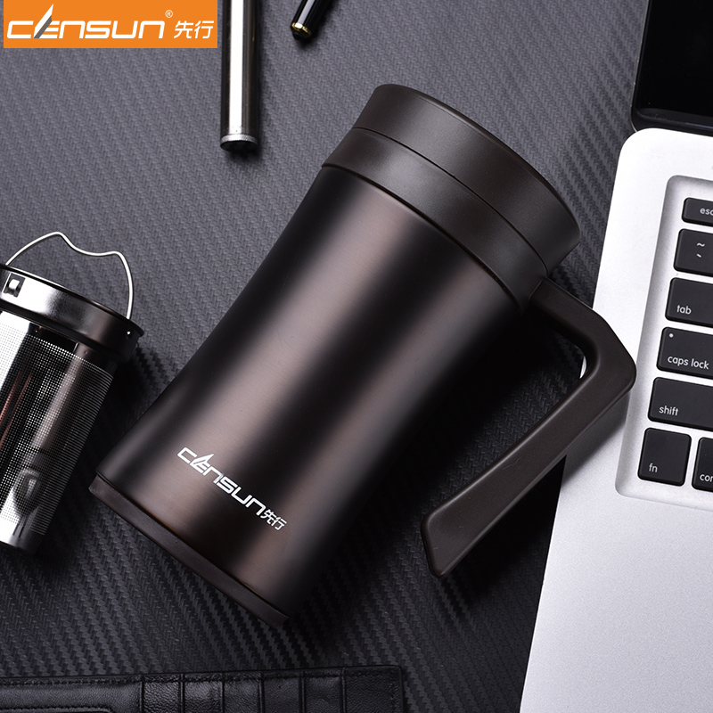 6e6ee021862 Quality Thermal cup vacuum Insulation Mug for Cofee with filter with handle  men termos insulated tumbler-in Vacuum Flasks & Thermoses from Home &  Garden on ...