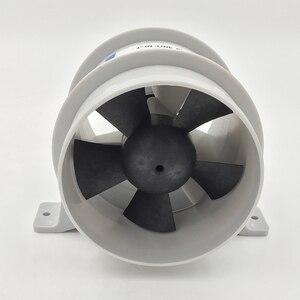 Image 1 - 高エアフロー 4 インチインラインビルジ静音送風機 12 Volt 4inch 径。ホース Ventilador silencioso 沈黙海洋ポンプ