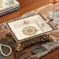 Novo Padrão! europeu Porcelana Cinzeiro Cinzeiro High-end Retro Criativo Início Mobiliário Enfeites de Cerâmica