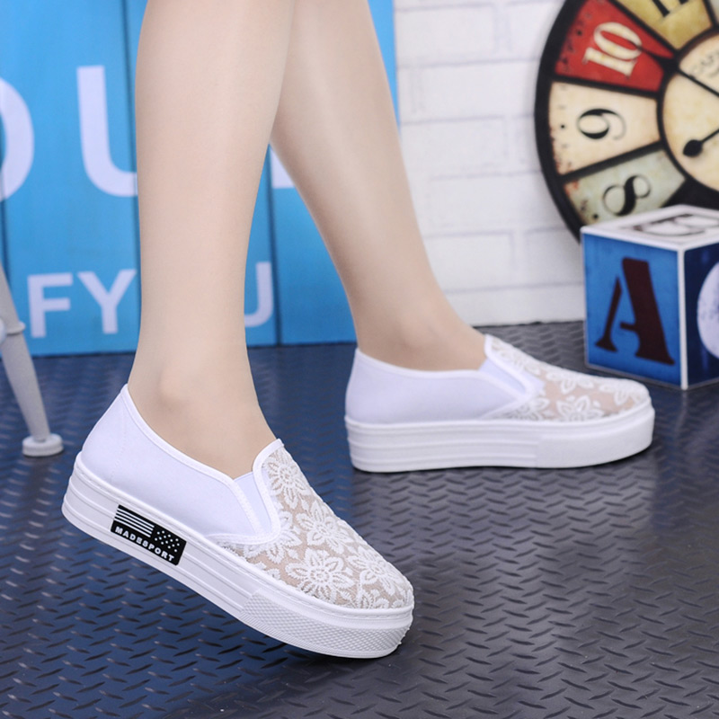 Hot Sale Summer Women Shoes Cutouts Lace Canvas Shoes Hollow Floral Breathable Platform Flats Shoe Sapato Feminino Zapatos Mujer summer women shoes casual cutouts lace canvas shoes hollow floral breathable platform flat shoe sapato feminino 30