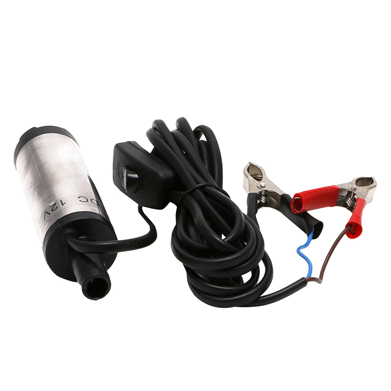 DC12V Stainless Steel Submersible 12L Per Minute 38mm Fuel Water Oil Pump