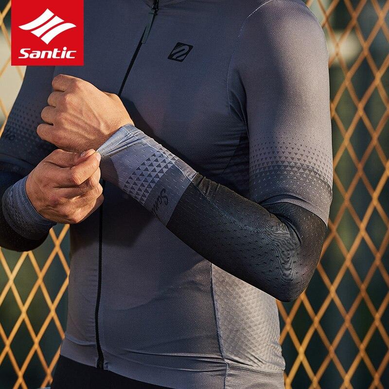 Купить santic велосипедные рукава эластичные гетры для бега mtb дорожный