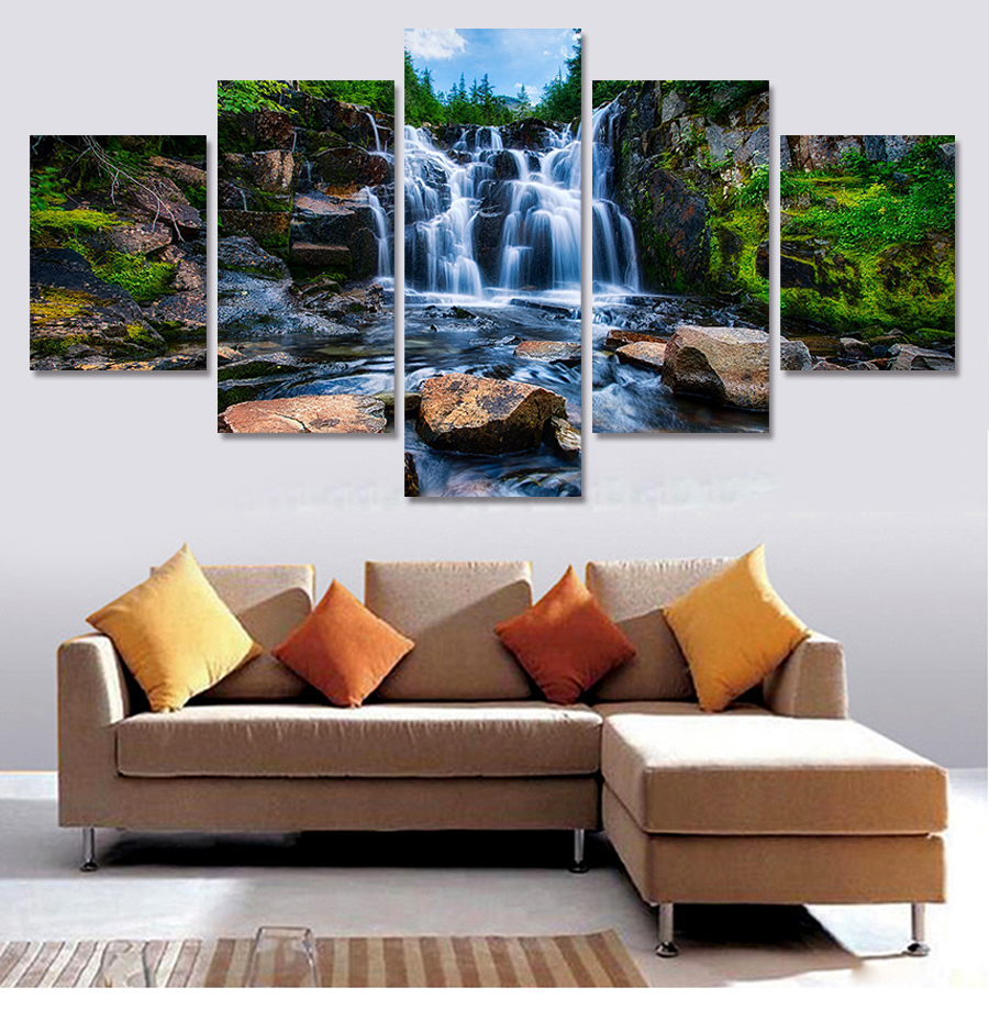 Online buy wholesale photos landscapes from china photos landscapes wholesalers - Gang schilderij ...