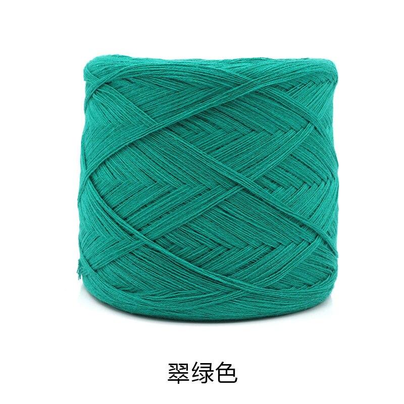 250 г/шт., белая, небеленая, оригинальная, Экологичная, здоровая, хлопковая, вязаная пряжа, детская, натуральная, мягкая, пряжа для вязания крючком - Цвет: green