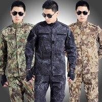 Tactical Military Uniform Army Militar Men S Clothing CS Combat Uniform Camouflage Hunting Clothes Jacket Pants