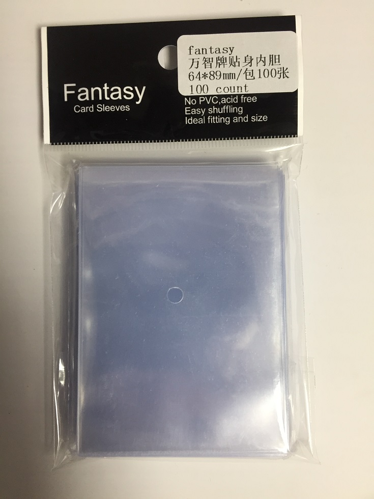 1-800pcs 64 * 89mm Card Sleeves Cards Beskytter Barrie til magiske Pokmen TCG brætmule GYH star cards