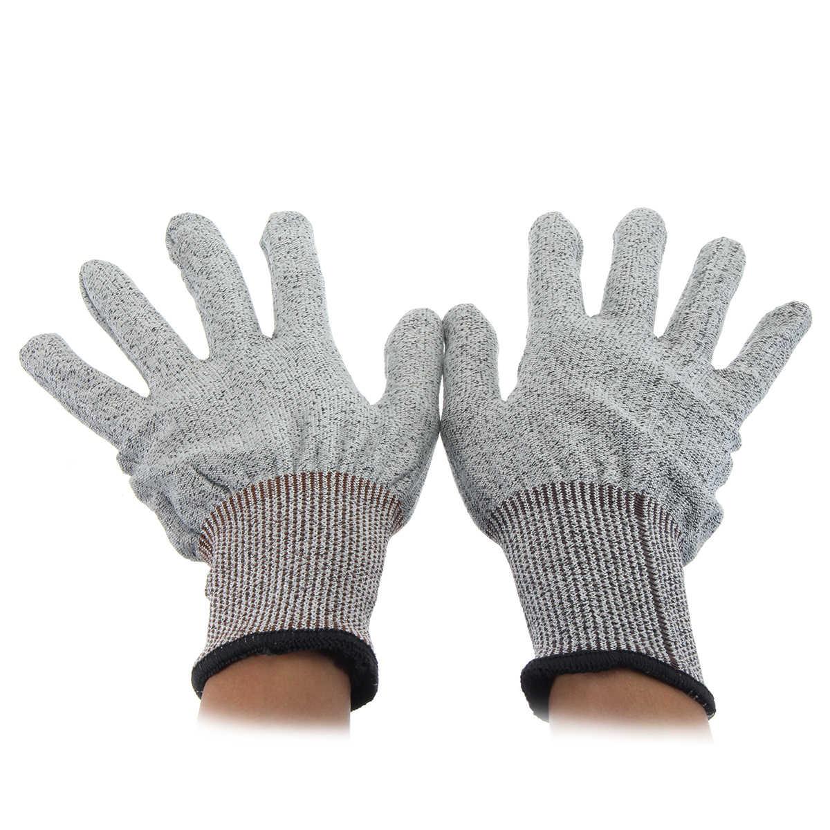 Безопасность устойчивые к порезам Stab устойчивы Нержавеющаясталь проволочная металлическая сетка ПЕРЧАТКИ МЯСНИКА порезостойкие защитные перчатки