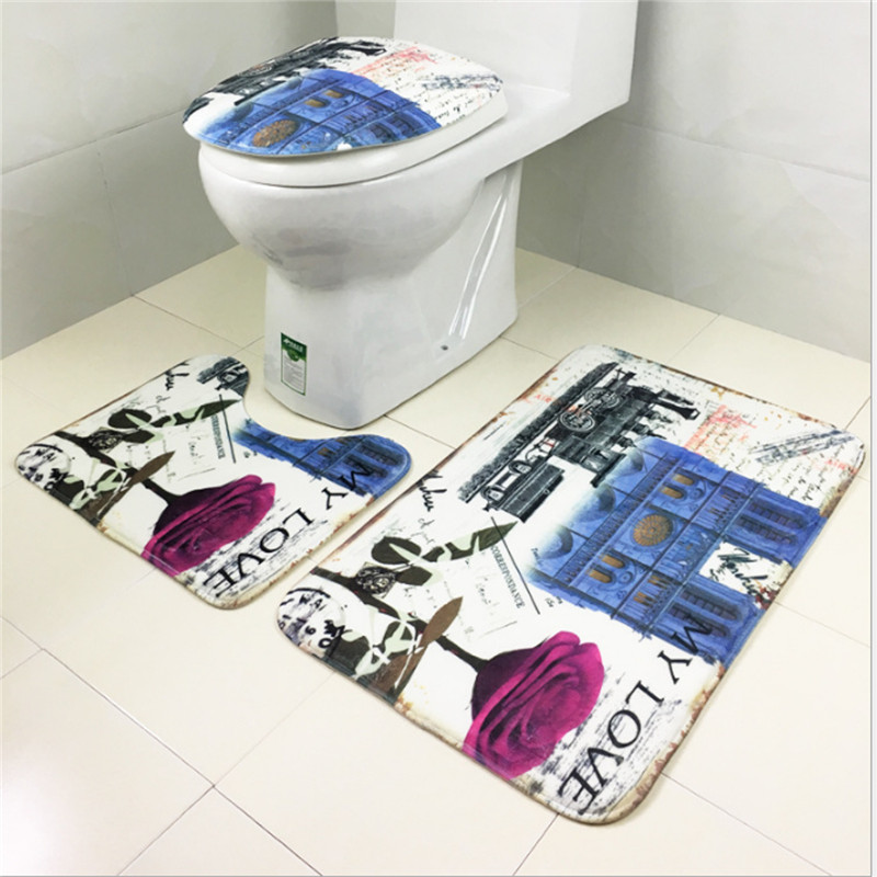Online get cheap eiffel tower rugs for Eiffel tower bathroom accessories