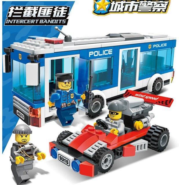 City police Series Educational diy Building Blocks 10