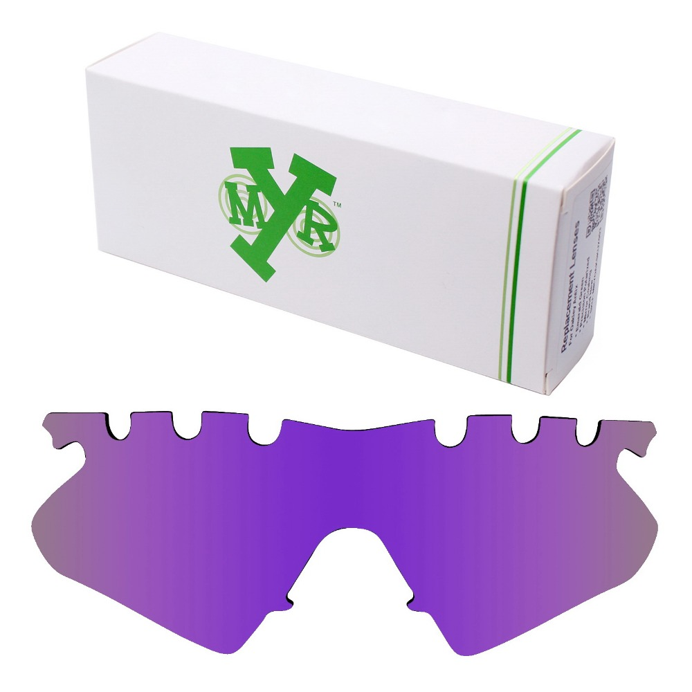 44ffe1fd87e Mryok POLARIZED Replacement Lenses for Oakley M Frame Heater Vented  Sunglasses Plasma Purple