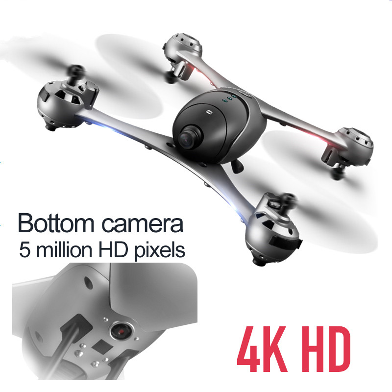 SCOTPALY 4K Drone With Camera HD Optical Flow Positioning Quadrocopter Altitude Hold