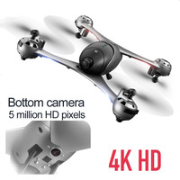 New 4K HD Camera Drone With Camera HD Optical Flow Positioning Quadrocopter Altitude Hold FPV Quadcopters RC Helicopter
