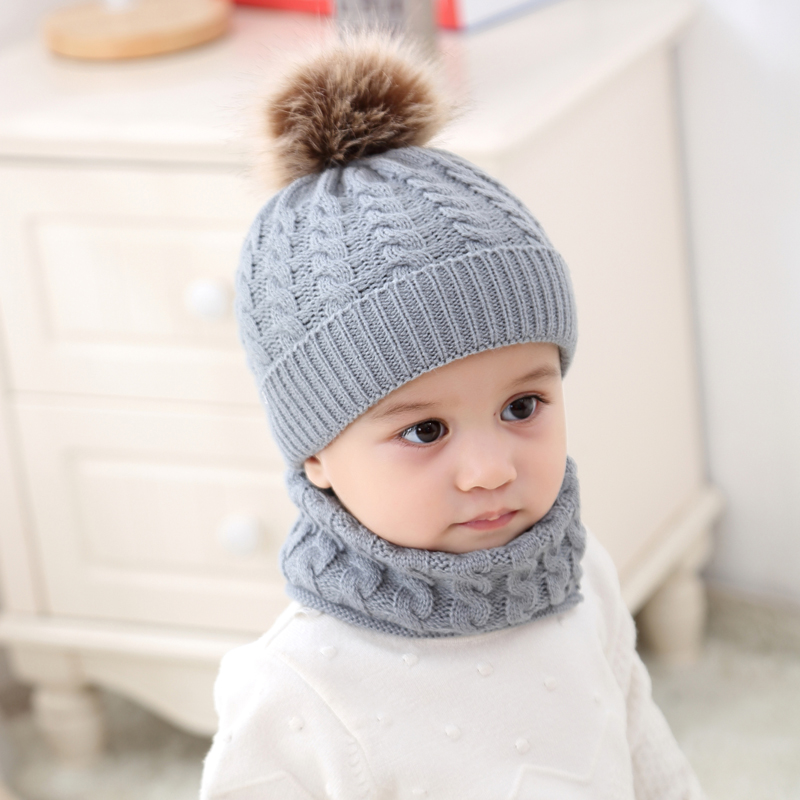 Baby Boys Hats Warmer Winter Cap Stylish Lace Up Tie up Hat Autumn
