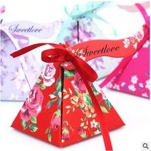 Δωρεάν αποστολή 20pcs / LOT Μεγάλο μέγεθος Γλυκό αγάπη Γάμος Favor Boxes Γάμος Candy Box Casamento γαμήλιες ευχαριστίες σουβενίρ