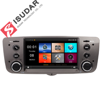 Isudar Car Multimedia Player GPS For Fiat/Palio Canbus Radio BT 1080P DVR Tire Pressure Monitoring System RDS Wifi DVR TPMS FM