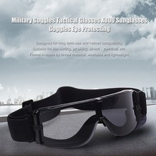 LESHP Military Goggles Tactical Glasses Airsoft X800 Sunglasses