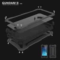 Luxury 5c Water Dirt Shock Proof Gorilla Glass Metal Aluminum Case Cover For Apple IPhone 5c