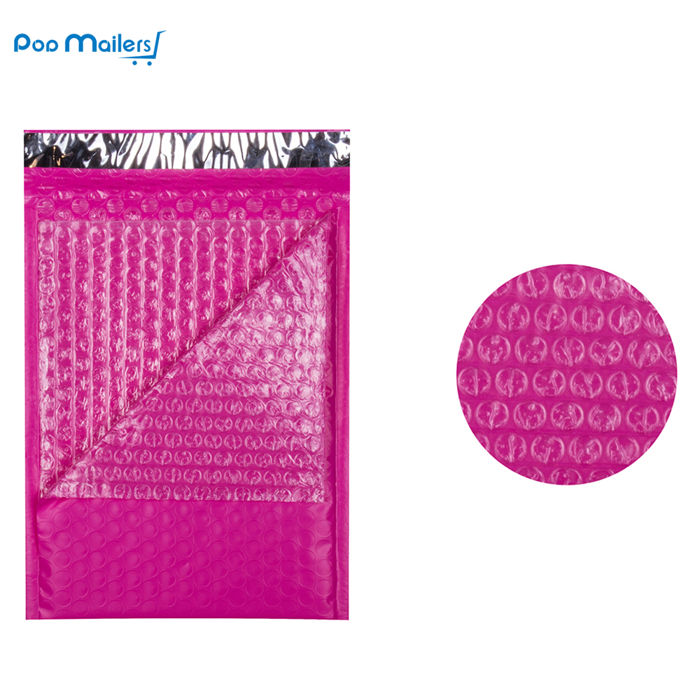 8 5x11inch 235 280mm Poly Bubble Mailer Pink Self Seal Padded Envelopes Pack of 10 in Paper Envelopes from Office School Supplies