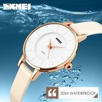 Fashion Gold Luxury Brand Watch Women Ladies Watches Leather Quartz Watch Relogio Feminino Clock Relojes Mujer