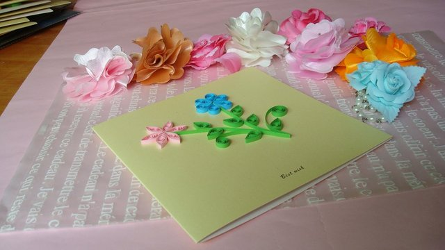 3 color flower design diy cards handmade creative kirigami 3 color flower design diy cards handmade creative kirigami origami gift greeting card m4hsunfo