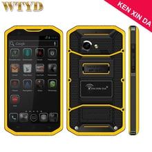 4 г Кен xin да proofin G W8 смартфон Встроенная память 16 ГБ + Оперативная память 2 ГБ IP68 Водонепроницаемый противоударный пылезащитный 5.5 »Andriod 5.1 MTK6753 Восьмиядерный
