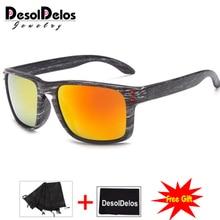 Feminino Sun Glasses Outdoors Square Eyewear Gafas De Sol Oculos FemininoFashionable Wood Sunglasses Men
