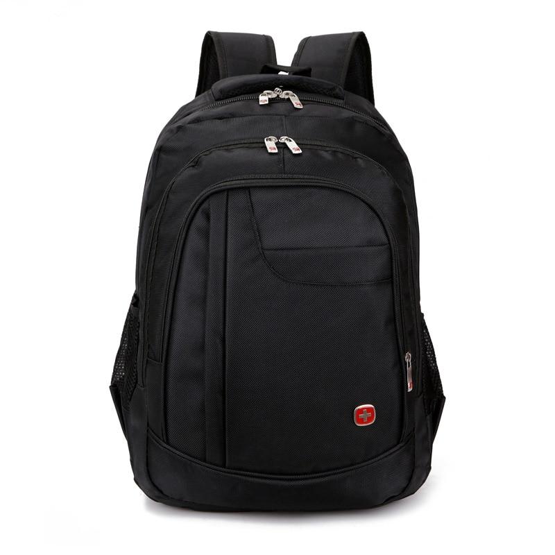 все цены на  2016 New Quality waterproof oxford swissgear Backpack Men 15 inch Laptop bag sac a dos men backpacks swiss Travel backpack bao  онлайн