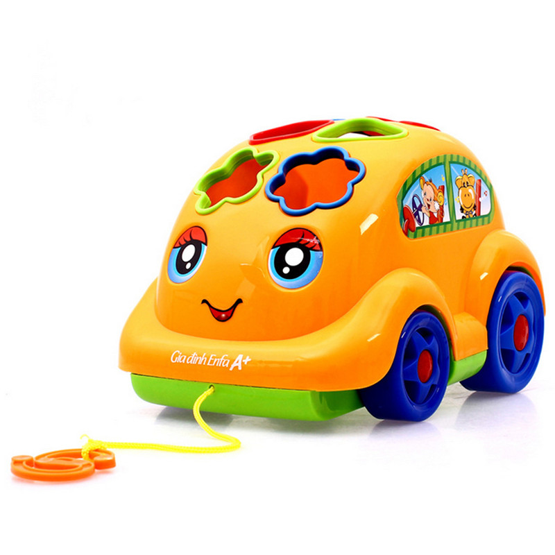 children cute explosion models car kids enlightenment cognitive educational toys car