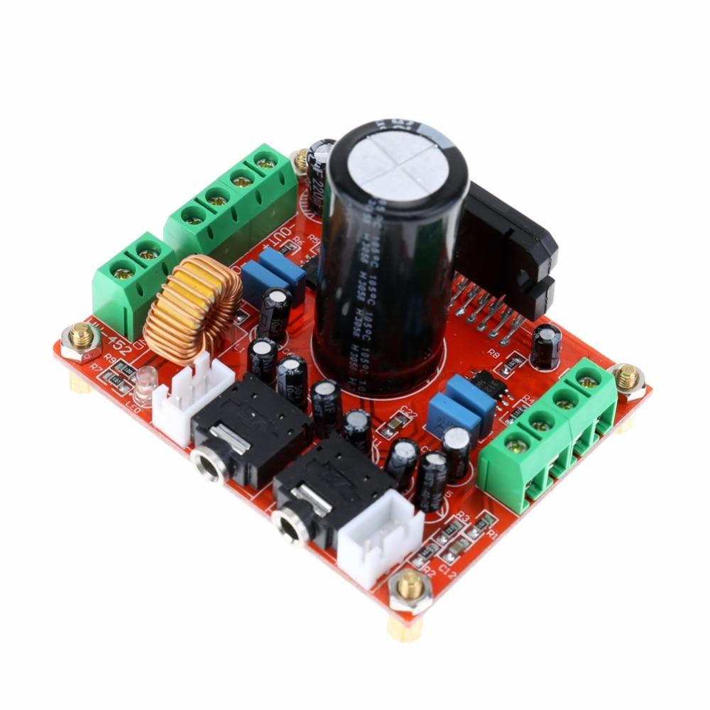 купить DC 12V TDA7850 4x50W Car Audio Power Amplifier Board Module BA3121 Denoiser Auto Audio Upgrade DIY 4-channel Amplifier по цене 904.37 рублей
