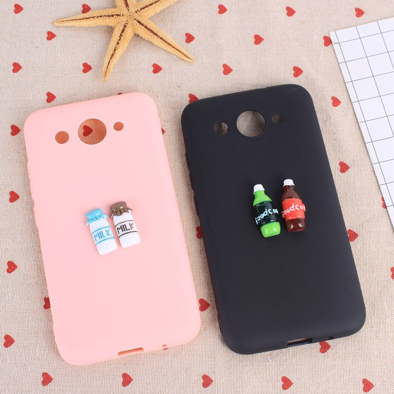 gambar gambar terlucu  lovely spot 3d case for huawei y5 y3 2017 candy color matte