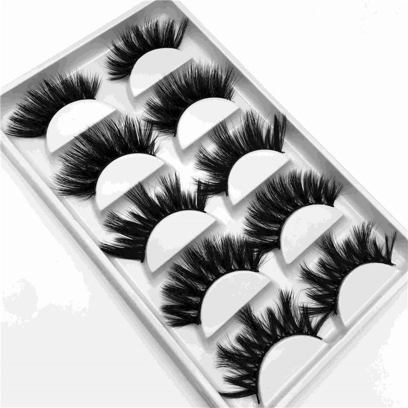 25mm imitation water mane 5 pairs thick thick false eyelashes