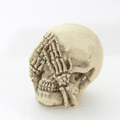 Halloween Skull Candle Mold Skull Cake Mold Cover Eyes Skulls Soap Mold Resin Clay Aroma Stone Molds for Soap Making Silicone
