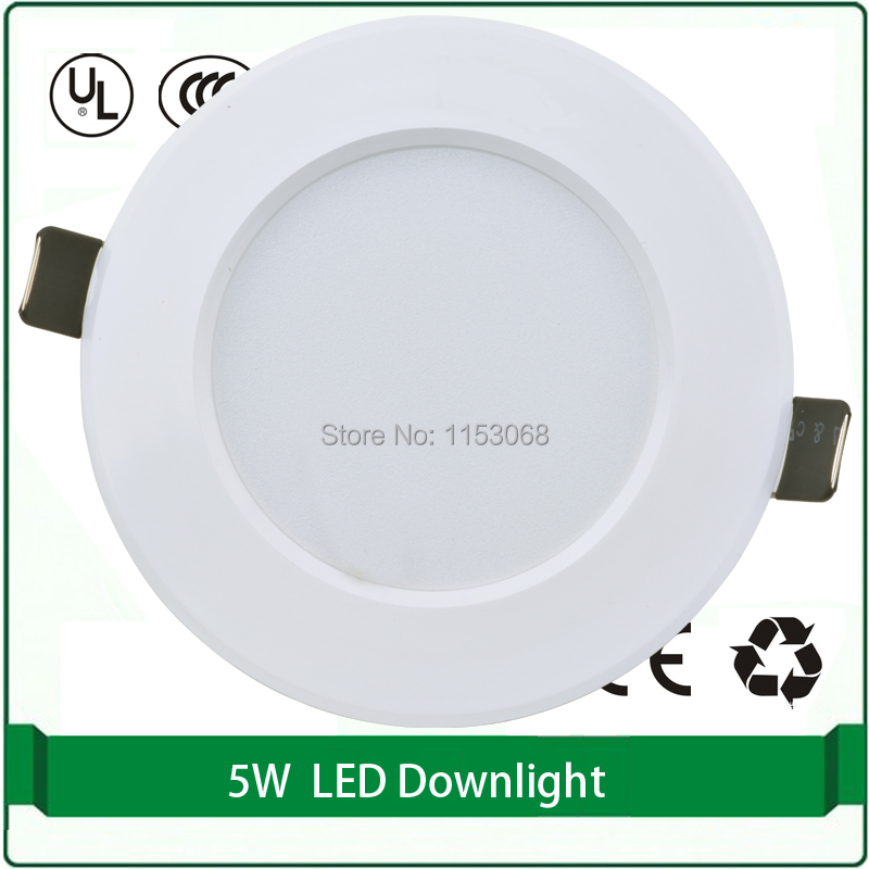 huge discount f01ac a391c 2pcs free shipping 110mm led downlight 5w down light-in ...